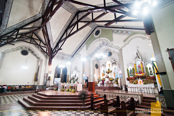The Gothic Inspired Altar at San Carlos Borromeo Cathedral
