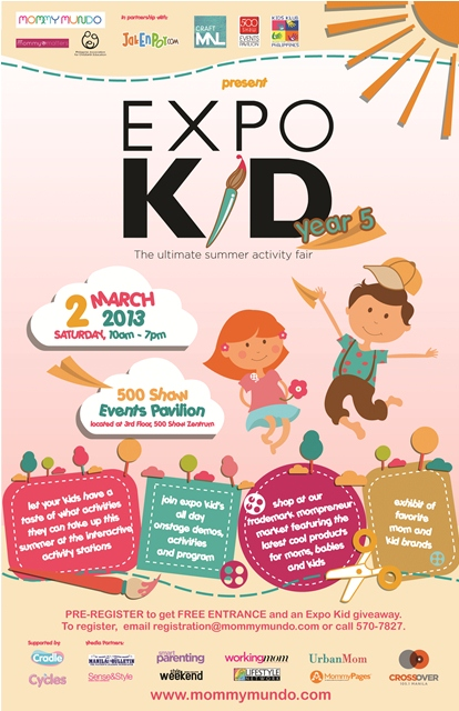 Mommy Mundo's Expo Kid 5