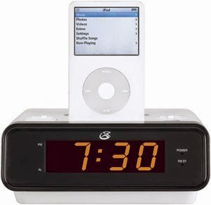 Gpx Clock Radio with ipod Dock