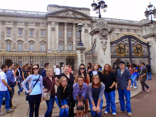 At Buckingham Palace. #StudyAbroadBecause the world awaits you