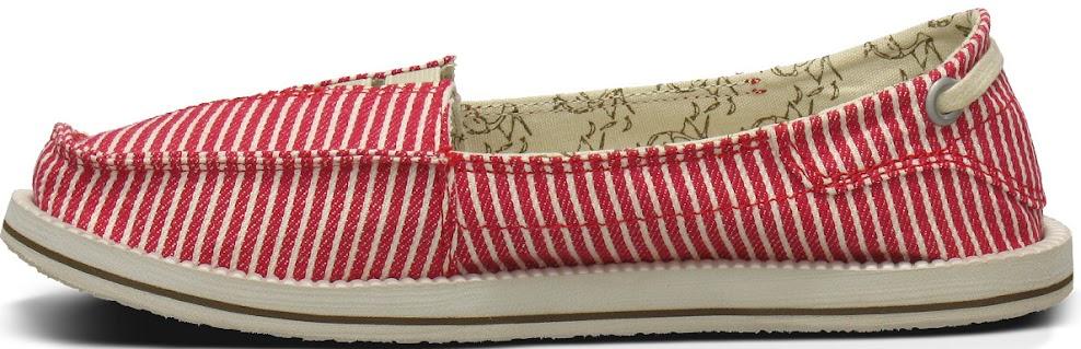*Sanuk 春風直條紋懶人鞋:幸福的送子鳥與女孩們打招呼喔! 6