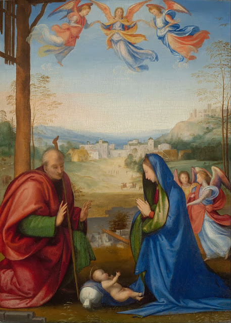 Fra Bartolomeo - The Nativity - Google Art Project