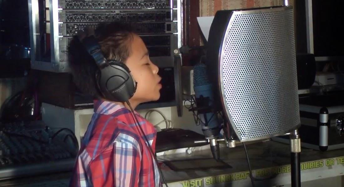 The Voice Kids Jimboy Garcia' singing All of Me Video Hits the Web