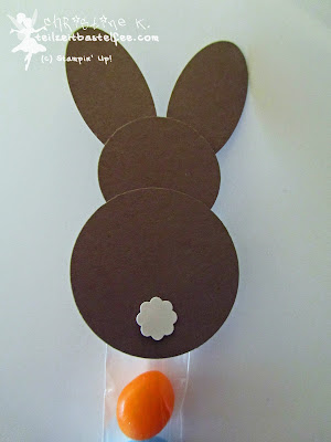 stampin up, easter bunnies, punch art, osterhase