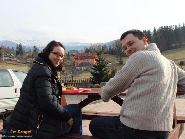 Kasia i Maciej na rybce w Szklarskiej Porębie