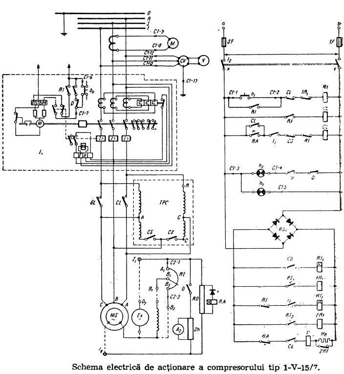 schema electrica  u2013 compresor tip 1 7  u00ab scheme