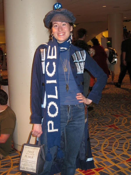 Lady TARDIS at DragonCon 2011