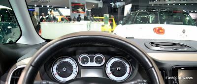 Fiat 500L Instrument Panel