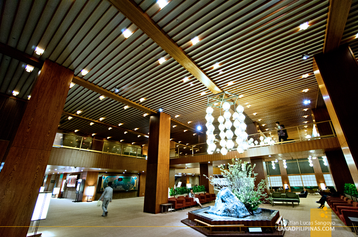 Main Lobby of Japan's Okura Hotel Tokyo