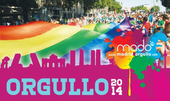 Cortes de tráfico por Orgullo Gay 2014. Sábado 5 y domingo 6 de julio