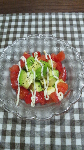 アボカドのたるたるサラダ