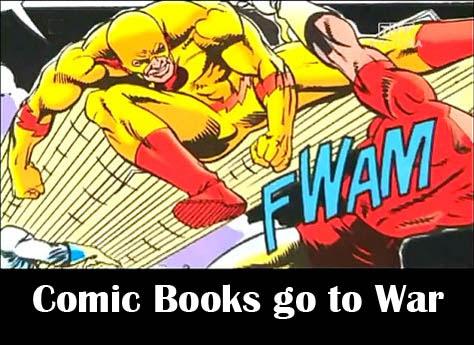 Komiksy id± na wojnê / Comic Books go to War (2009) PL.TVRip.x264 / Lektor PL
