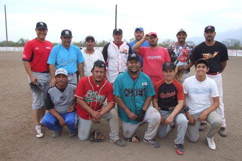 Equipo Cerveceros en el softbol del Club Sertoma