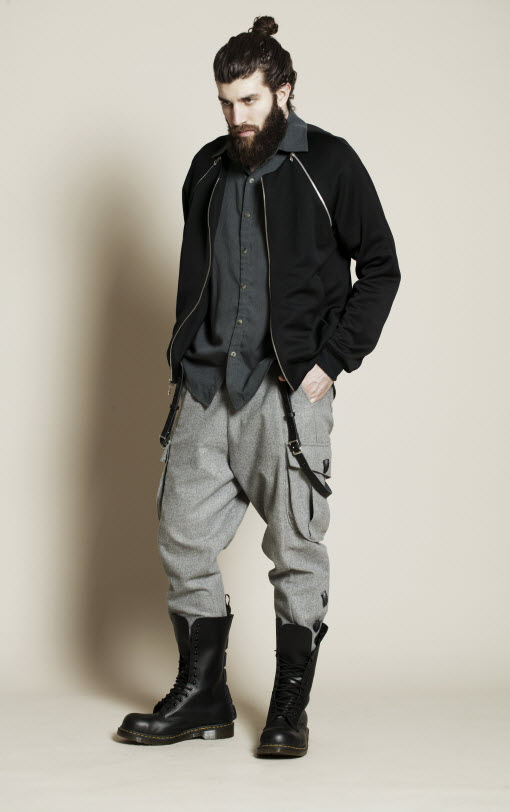 Asher Levine's Utilitarian Military Look for AW12