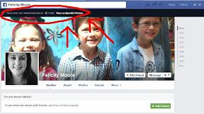 Facebook photo of Felicity's children