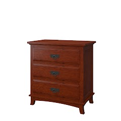 Glasgow Nightstand with Drawers
