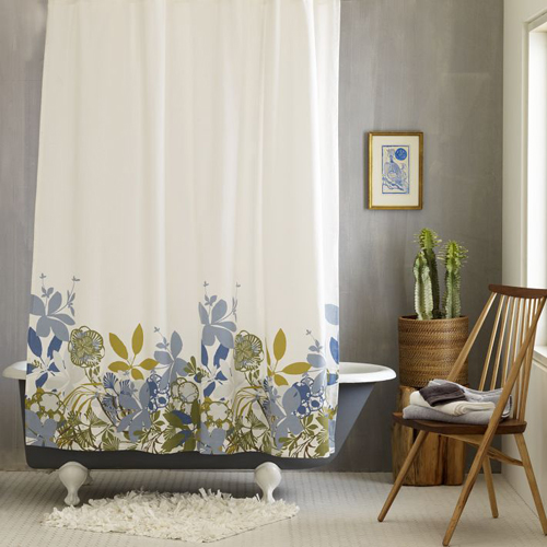 cortinas de baño para decorar