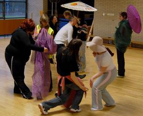 Integrative Tanz-Performance