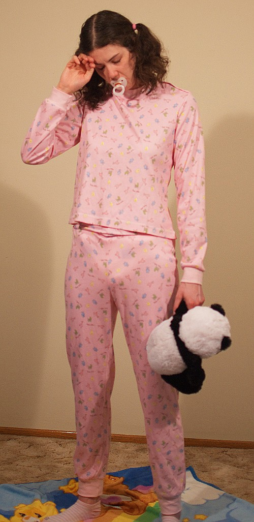 privatina - individual one piece fashion  adult baby pajama - Junior... 8fc063d3d1ee