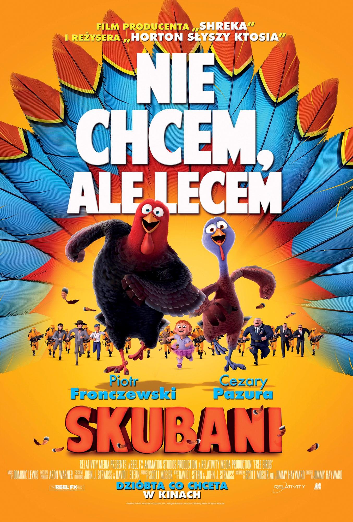 Polski plakat filmu 'Skubani'
