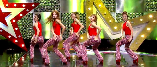 Dal★Shabet - Bling bling @ Music core | Live performance