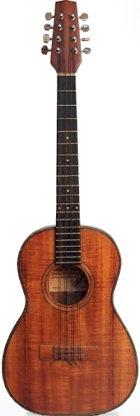 Sonny D eight string Baritone Taropatch Ukulele