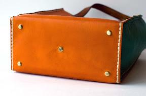 Кожаная сумка ручной работы  art № 153 mexico