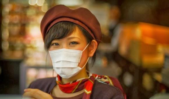 Masker di Jepang