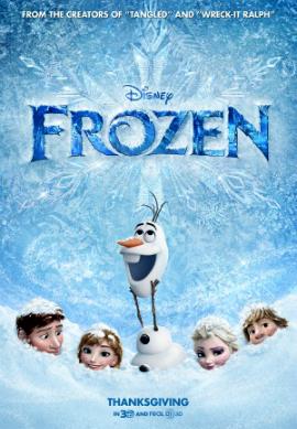 Filme Poster Frozen – Uma Aventura Congelante DVDSCR XviD & RMVB Legendado