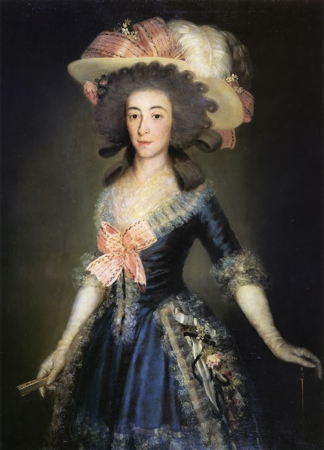 Francisco Goya - Condesa-duquesa de Benavente