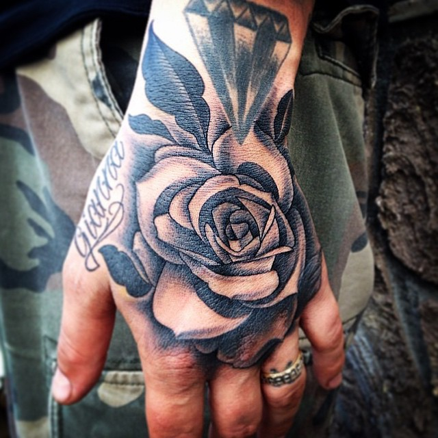 Instagram media Hand job on my buddy @that_cut_dho ✂️ One of the illest barbers I know!  #tattoo #tattoos #tattoosnob #tattooart #tattoo_artwork #tattoosofinstagram #rose #rosetattoo #blackandgrey #blackworkerssubmission #thedailytattoos #artnerd2014 #prophetsandpoets #inkedphilly #phillyink #philadelphia #savemyink #inksav #inkjunkeyz #picstitch #the_inkmasters  #iphonesia #igdaily #instadaily #instagood #igart