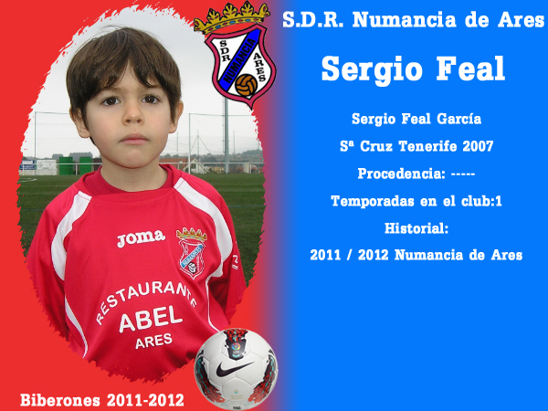 A. D. R. Numancia de Ares. Biberones 2011-2012. Sergio Feal