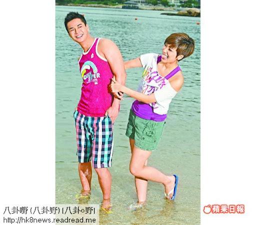 羅仲謙經常取笑黃智雯,但因兩人老友,智雯毫不介意。攝影:仇志德