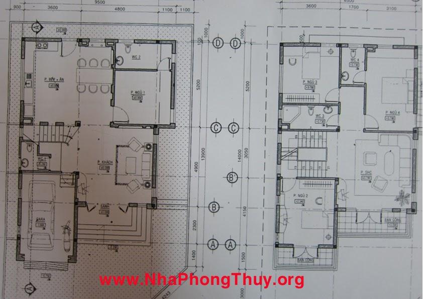 Thiết kế tầng trệt và lầu 1 của công ty