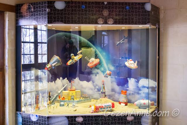 Oyuncak müzesindeki uzay mekikleri, Gaziantep