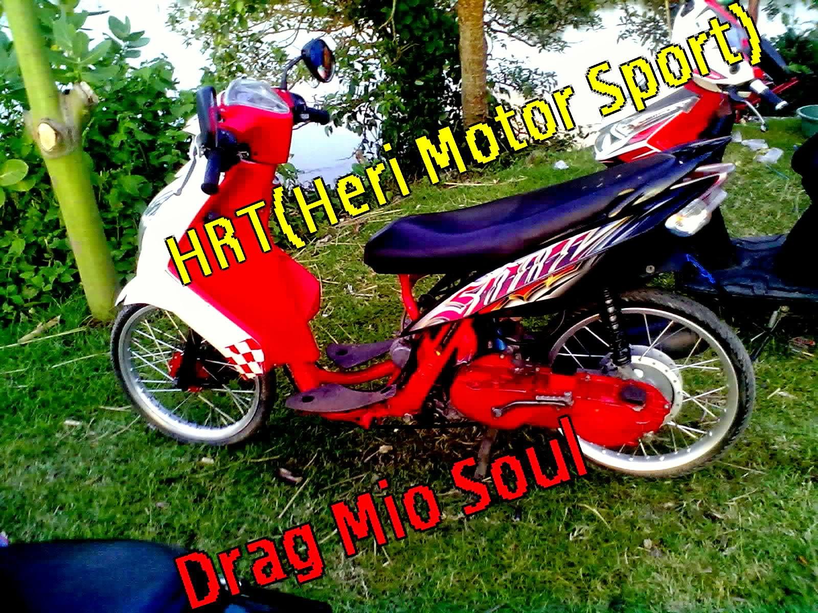 Modifikasi Motor Drag Mio Fino