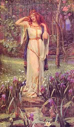 Goddess Freyja Image
