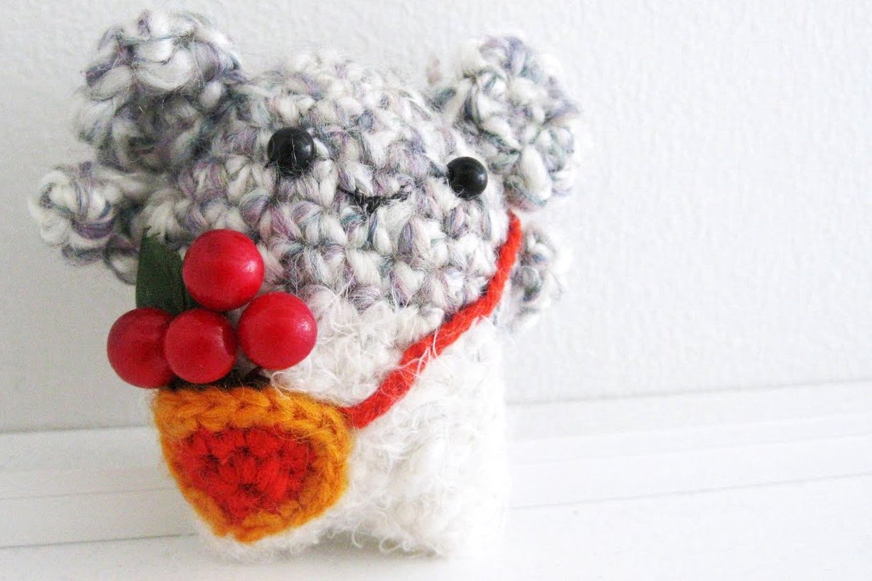 Amigurumi Animals For Beginners : Hamster Amigurumi crochet pattern The Sun and the Turtle