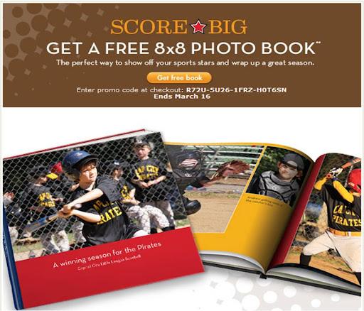 Shutterfly Free 8X8 Book Code