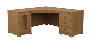 Hillside L-Shaped Desk