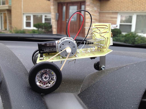 Racing Robot - our version