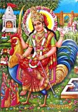 Goddess Bahuchara Image