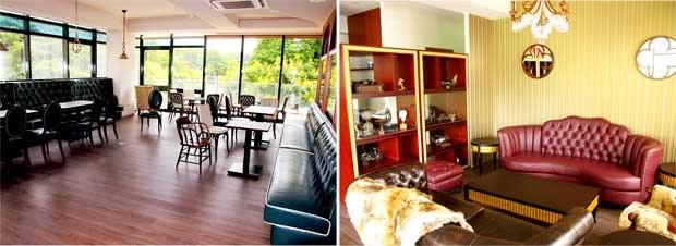 2樓的古董沙發及傢俱也是從英國飄洋過海來的喔-軟鐵Soft Metal英式下午茶