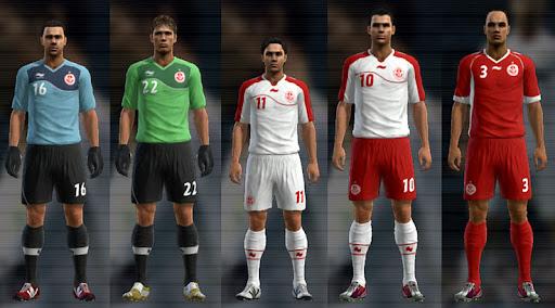 Tunísia 12-13 Kitset - PES 2012