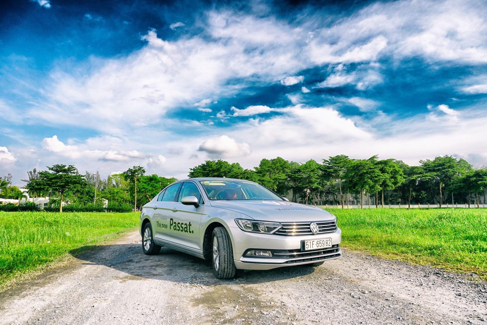 Volkswagen Passat 2016 là chiếc xe đẳng cấp nhất trong phân khúc