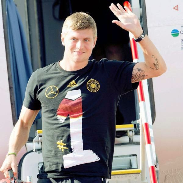 Kroos is due to be unveiled by his new employers at a press conference later Thursday.