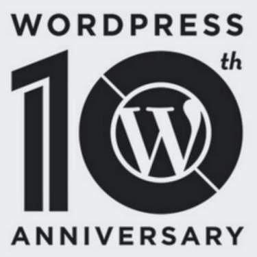 WordPress cumple 10 años ¡Felicidades!