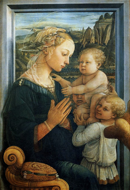 Filippino Lippi - Madonna with the Child and two Angels
