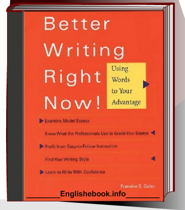 English Ebook - Better Writing Right Now