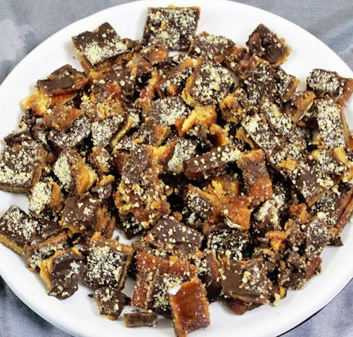 Chocolate Caramel Cookie Brittle Recipes — Dishmaps
